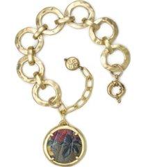 patricia nash lili hammered link bracelet