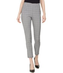 calvin klein plaid pull-on pants