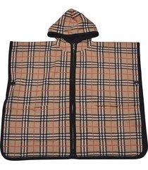 burberry check cape