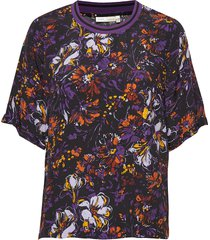 kavitaiw top blouses short-sleeved multi/patroon inwear