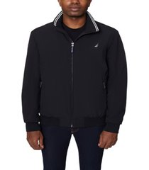 nautica men's big and tall stretch bomber jacket