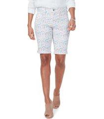 women's nydj briella print shorts