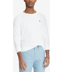 polo ralph lauren men's spa terry sweatshirt