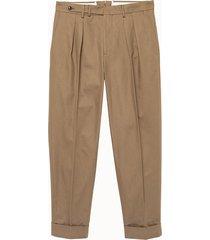 pt torino pantalone in cotone deluxe beige