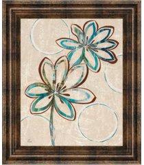 """classy art tie dye i by nan framed print wall art, 22"""" x 26"""""""