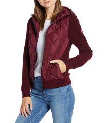 women's canada goose hybridge 625 fill power down jacket, size small - purple