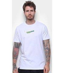 camiseta cyclone córsega metal masculina - masculino