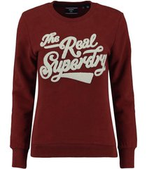 trui college rood