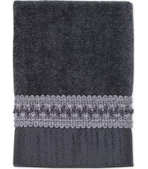 """avanti """"braided cuff"""" wash towel, 13x13"""" bedding"""