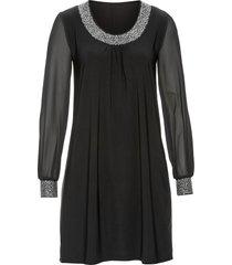 abito con strass (nero) - bodyflirt