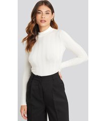 sisters point hott knitted sweater - white