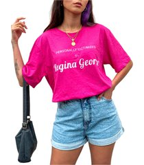 blusa in love t-shirt over regina george pink - kanui