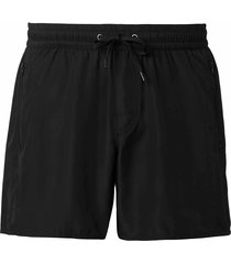 calzedonia - men's formentera swimming shorts, s, black, men