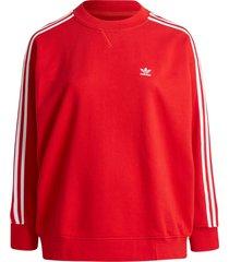 sweatshirt adicolor classics oversize sweatshirt plus