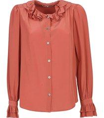 sea sinclair silk blouse