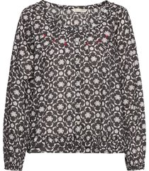 josephine blouse blouse lange mouwen zwart odd molly
