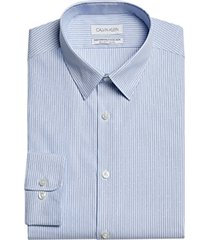 calvin klein wicking modern fit dress shirt french blue stripe