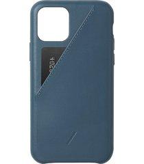 clic card iphone 11 pro case - indigo