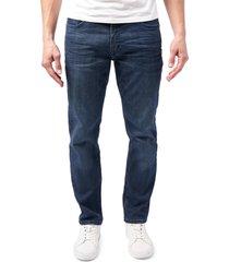 men's devil-dog dungarees athletic fit performance jeans, size 40 x 32 - blue