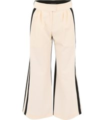 gianluca capannolo cropped palazzo pants