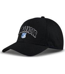 gorra oficial negra millonarios otocaps fmic - 004 negro
