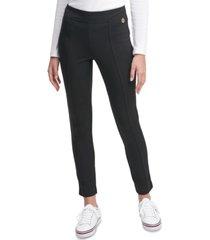 tommy hilfiger cool compression side-striped leggings