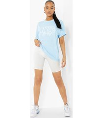 overdye nyc t-shirt, blue