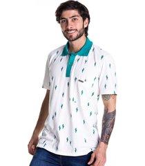 camiseta tipo polo-marfil-puntazul-41343