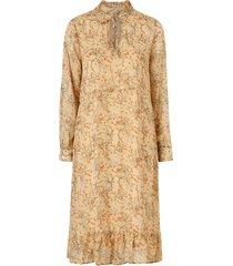 klänning woven dress l/s