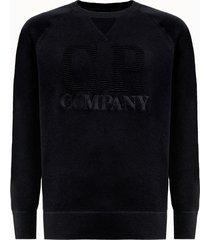 c.p company maglia girocollo in cotone con logo