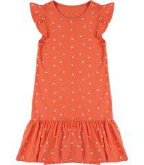 vestido naranja-blanco name it