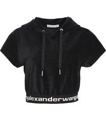 t by alexander wang corduroy hoodie