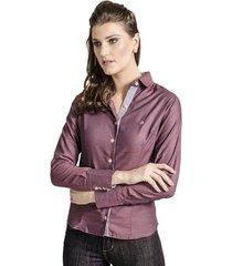 camisa carlos brusman feminina slim