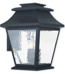 livex hathaway 4-light outdoor wall lantern