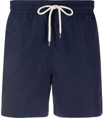 polo ralph lauren classic swim shorts - blue