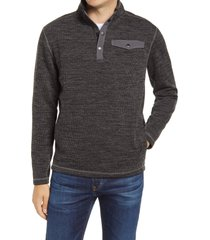 men's johnnie-o fleetwood ribbed henley pullover