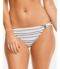 amalfi stripe textured classic bikini brief