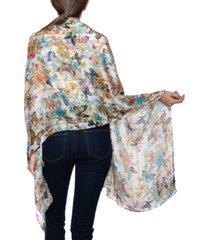 inc secret garden wrap scarf, created for macy's