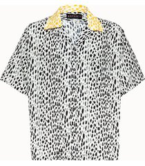 havanii camicia shoofy in viscosa leopard