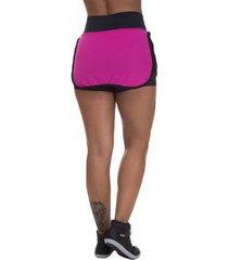 shorts saia mis blessed premium com dry fit feminino