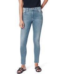 women's joe's the icon cut hem ankle skinny jeans