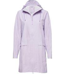 w coat regenkleding paars rains
