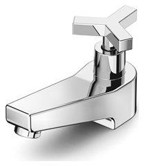 torneira de mesa para lavatório com bica baixa up cromada