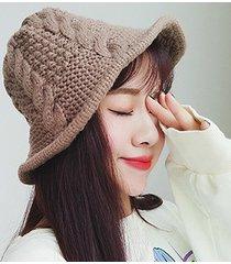 cappello lavorato a maglia da donna cappello da cowboy