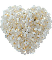 anillo pasionaria baño oro blanco bijulovers