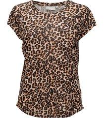 celestin ao_18 tshirt kntg t-shirts & tops short-sleeved brun inwear