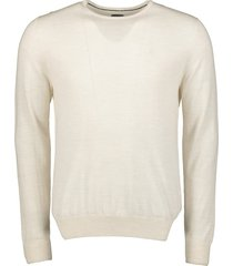 nils pullover - slim fit - creme