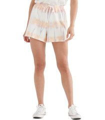 women's lucky brand the summer drawstring shorts, size xx-large - green