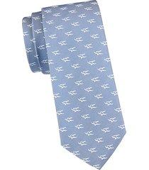 seagull-print tie