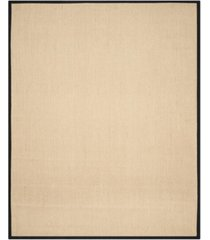 safavieh natural fiber maize and black 8' x 10' sisal weave rug